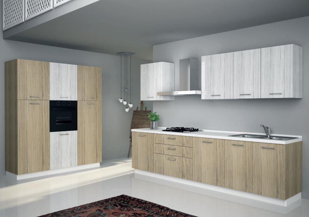 Cucina astra cucine sp 22 moderna laminato opaco cucine a prezzi scontati - Laminato in cucina ...