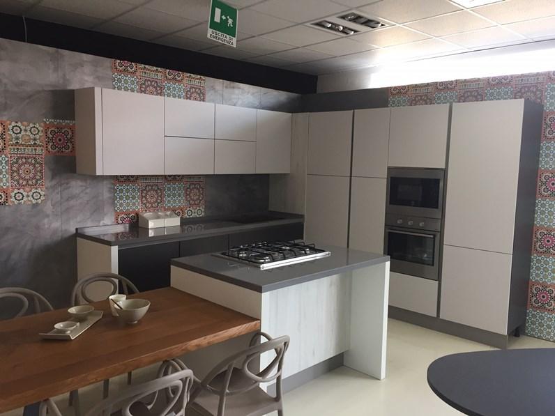 Cucina Ad Angolo Con isola E 35 Magnifico Cucina Moderna Con ...
