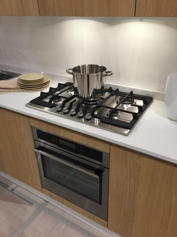Cucina astra cucine tutto legno con penisola rovere - Spessore top cucina ...