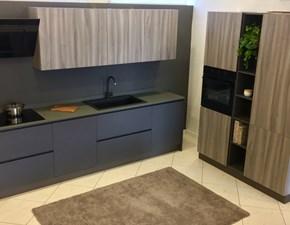 Cucina Astra modello Zen con piano in quarzo completa di elettrodomestici Electrolux