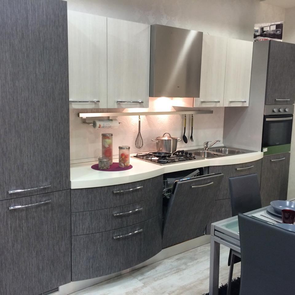 Cucina aurora moderna cucine a prezzi scontati for Mobili x cucine piccole