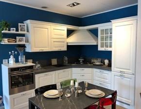 Cucina Baltimora inglese bianca ad angolo Scavolini