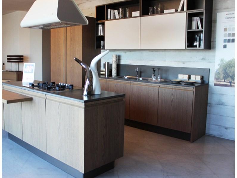 Berloni cucina canova con isola - Berloni cucine moderne ...