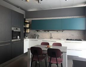 Cucina Berloni cucine moderna ad angolo altri colori in laminato materico Sunny