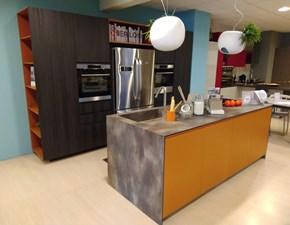 Cucina Berloni cucine moderna ad isola altri colori in laminato opaco Meeting