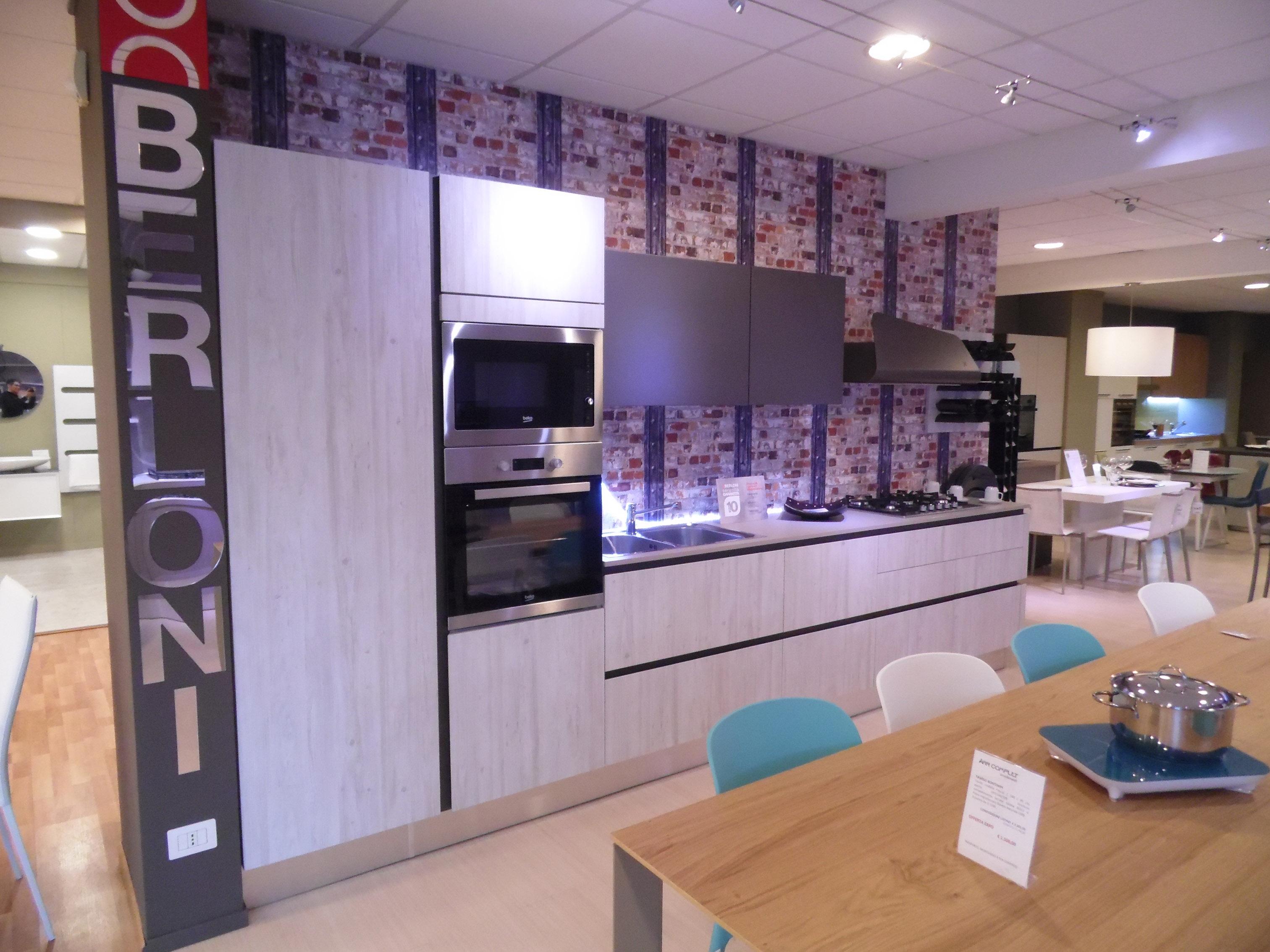Cucina Berloni modello B50 Deck Bianco Latte Scontato del -48 ...