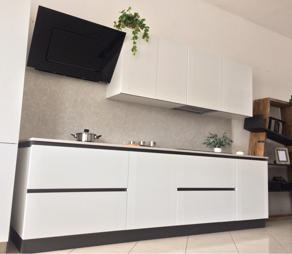 Top In Quarzo Per Cucine. Cool Finitura Quarzo Nero Brillante With ...