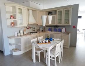 Cucina bianca classica ad angolo Madeleine Scavolini
