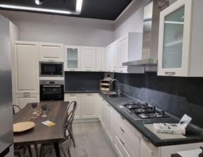 Cucina bianca classica ad angolo Tania Net cucine