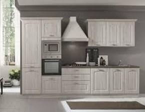 Cucina bianca classica lineare Asa arredamenti Artigianale in Offerta Outlet