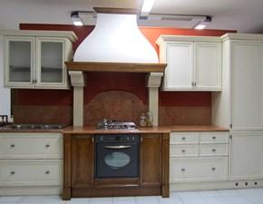 Cucina bianca classica lineare Canova Bamax in offerta