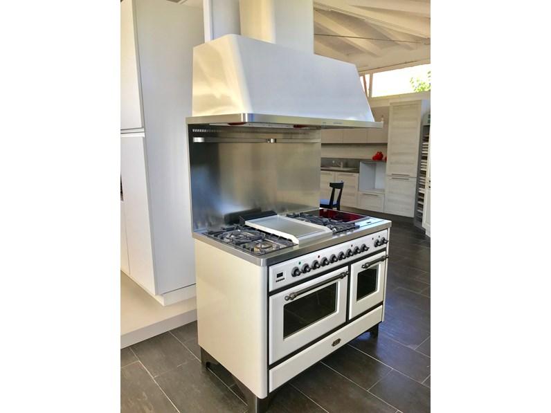 Cucina bianca classica lineare Cucina ilve - majesic - ms120 bianco antico  Ilve