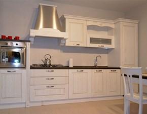 Cucina bianca classica lineare Mod verona Arredo3 in Offerta Outlet