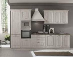 Cucina bianca classica lineare Soffia  Mobilturi cucine