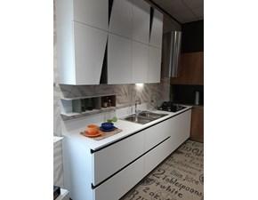 Cucina bianca design ad angolo Infinity Stosa cucine