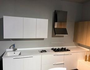Cucina bianca design ad angolo Kalea Cesar cucine