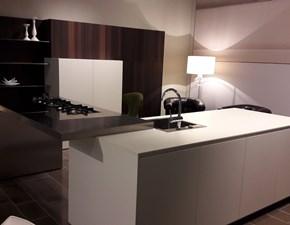 Cucina bianca design ad isola El_01 Elmar cucine
