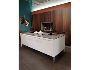 Cucina bianca design ad isola Unit Cesar cucine