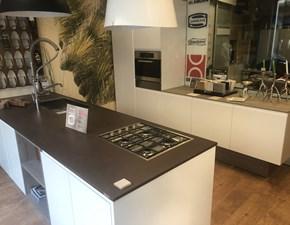 Cucina bianca design lineare Arerb Berloni cucine