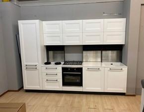 Cucina bianca design lineare Asia Forma 2000