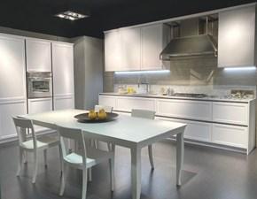 Cucina bianca design lineare Frame Snaidero