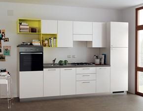 Cucina bianca design lineare Urban & urban minimal Scavolini