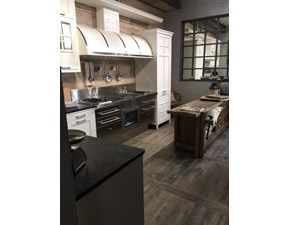 Cucina bianca industriale ad angolo Kreola mi.t Marchi cucine scontata