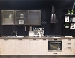 Cucina bianca industriale lineare Kyra telaio Creo kitchens