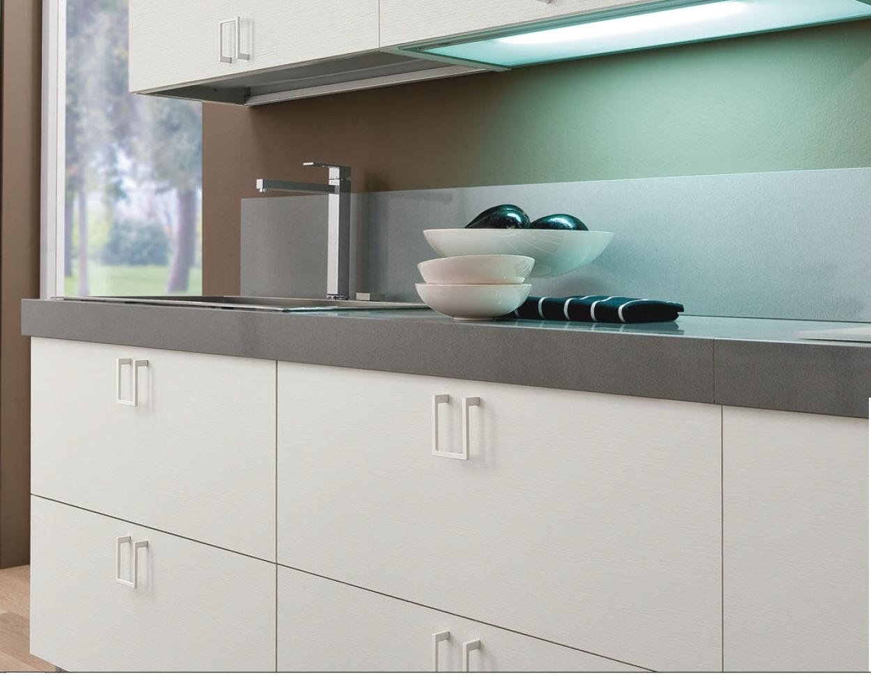 Cucina bianca laccata moderna essential white offerta convenienza cucine a prezzi scontati - Cucine moderne mercatone uno ...
