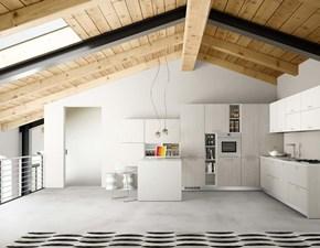 Cucina bianca moderna ad angolo Anzimud 7 Essebi cucine