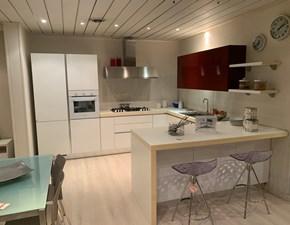 Cucina bianca moderna ad angolo Brava Lube cucine