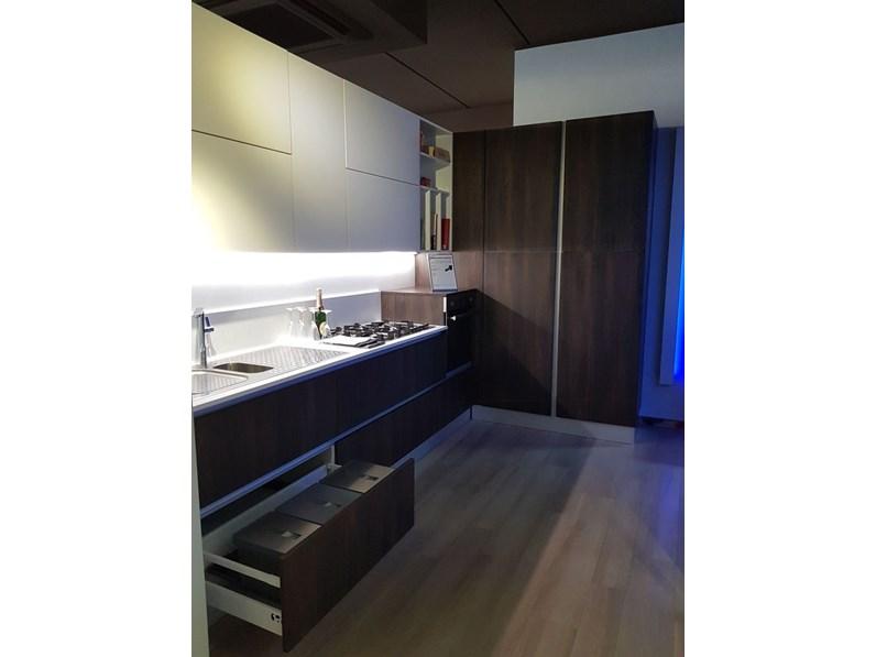 Cucina bianca moderna ad angolo Cucina ad angolo mod ...