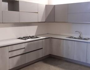Cucina bianca moderna ad angolo Maya Evo cucine scontata