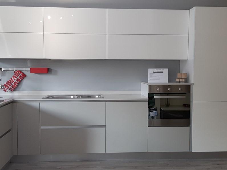 Cucina Moderna Cucina.Cucina Bianca Moderna Ad Angolo Oriente Sole Arrex