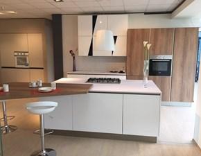 Cucina bianca moderna ad isola Infinity Stosa cucine