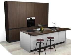 Cucina bianca moderna ad isola Kali' Arredo3