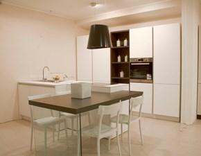 Cucina bianca moderna ad isola Kali Arredo3