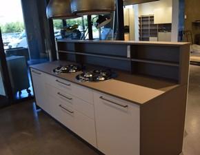 Cucina bianca moderna ad isola Rewind+replay Stosa cucine scontata