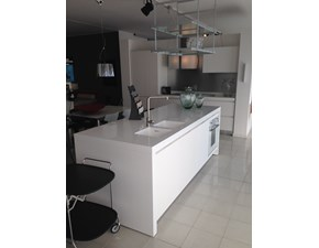 Cucina bianca moderna ad isola Yara Cesar cucine in offerta