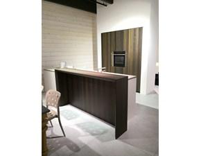 Cucina bianca moderna con penisola Zanotto Zanotto in Offerta Outlet