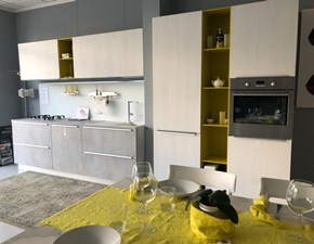 Cucina bianca moderna lineare 2.1 Copat cucine in offerta