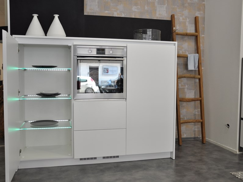 Cucine Arte Moderna.Cucina Bianca Moderna Lineare Arte Key Cucine