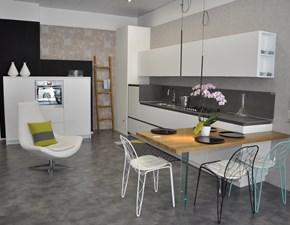 Cucina bianca moderna lineare Artè Key cucine