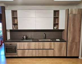 Cucina bianca moderna lineare Astro Essebi cucine