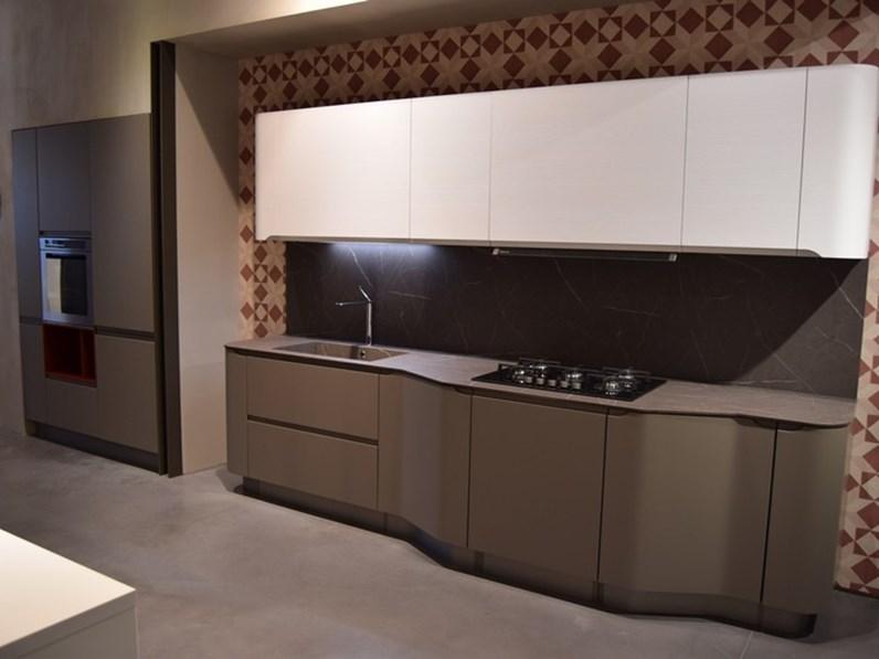 Cucina bianca moderna lineare Bring Stosa cucine scontata
