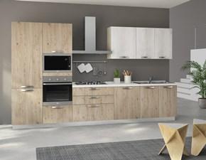 Cucina bianca moderna lineare Cucina ratika 2 cm 3,60 Artigianale scontata