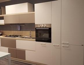 Cucina bianca moderna lineare Foodshelf Scavolini