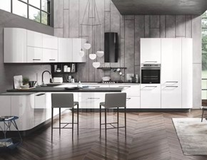 Cucina bianca moderna lineare Gaia& oceano Mobilturi cucine in offerta