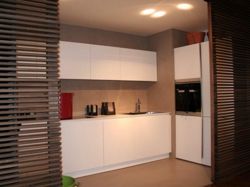 Cucina bianca moderna lineare Gamma Arclinea in Offerta Outlet
