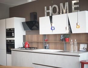 Cucina bianca moderna lineare Infinity STOSA CUCINA - SUPER SCONTATA